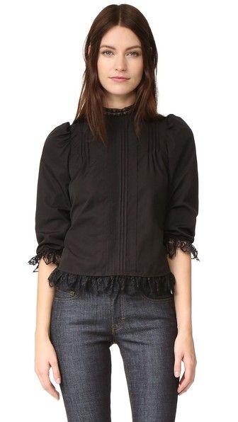 DSQUARED2 Рубашка В Викторианском Стиле. #dsquared2 #cloth #dress #top #shirt #sweater #skirt #beachwear #activewear