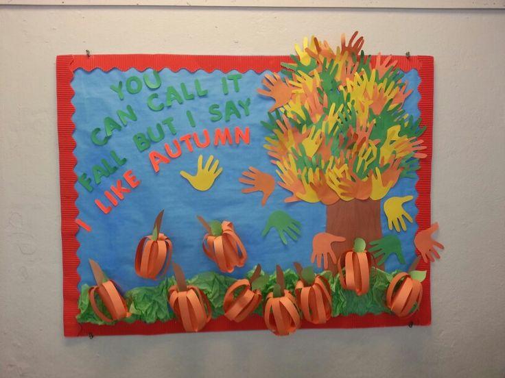 Autumn bulletin board autumn pinterest bulletin for Fall bulletin board ideas