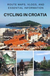 All you need to know about cycling in Croatia. Useful route maps, daily vlogs, and other essential information you might need to help plan your own bicycle tour in Croatia.
