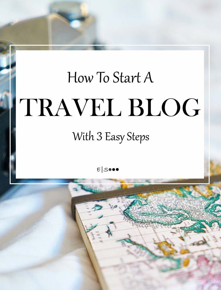 How to start Lifestyle and Travel blog in 3 easy steps.