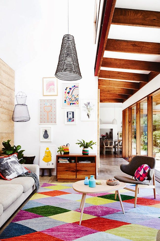 Fancy Windows : Eco-conscious colorful house.