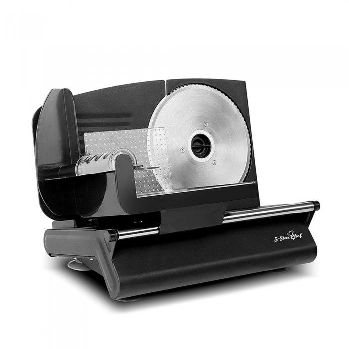 Electric Meat Slicer - Black