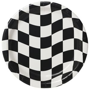 20429944 - Checkered Dinner Plate Please note: approx. 14 day delivery time. www.facebook.com/popitinaboxbusiness