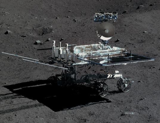 Yutu Rover / Image Courtesy of Chinese Academy of Sciences / China National Space Administration / The Science and Application Center for Moon and Deepspace Exploration / Emily Lakdawalla