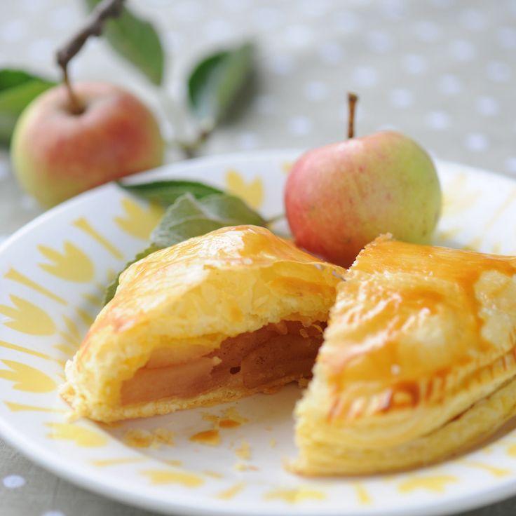 Découvrez la recette des chaussons aux pommes à la canelle
