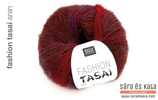 Rico Fashion Tasai knitting yarn