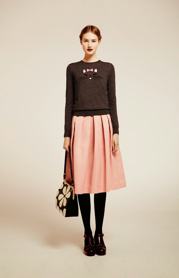 Cool Chic Style Fashion: Fashion Lookbook | Orla Kiely fall 2014