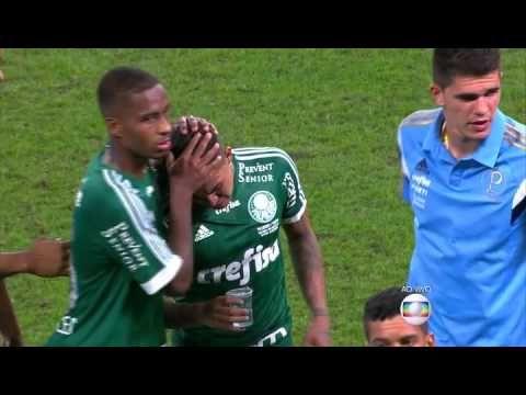 Palmeiras x Santos - Momentos Finais + Penaltis e  comemoração  Final Co...