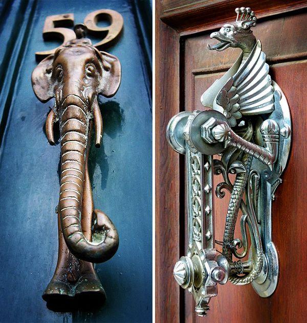 173 best Door knobs & door knockers images on Pinterest | Lever door ...
