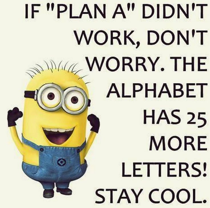 Thursday Minions Funny Quotes (08:42:26 PM, Tuesday 19