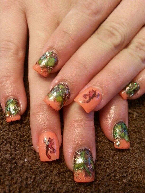 mossy oak nails ideas