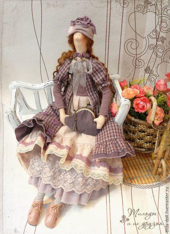 Купить Кукла в стиле Бохо: Джейн ( Бохо Шик) - тильда, кукла Тильда ♡