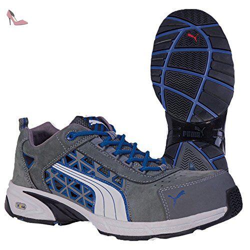 Puma 642460.48 Stream Blue Chaussures de sécurité Low S1P HRO SRA Taille 48 - Chaussures puma (*Partner-Link)
