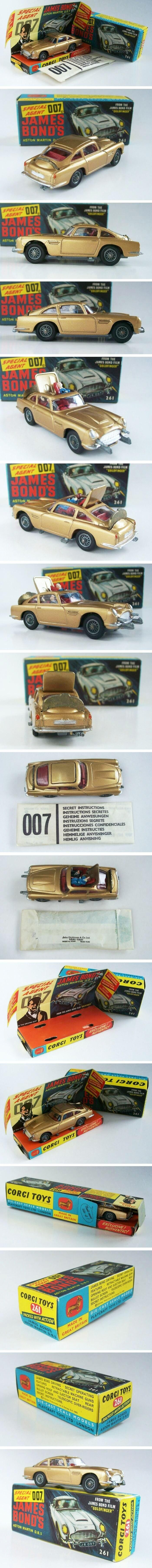 Corgi James Bond Aston Martin DB5 C270
