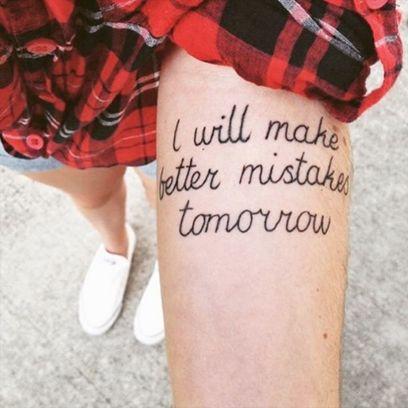 26 cute quote tattoo design ideas