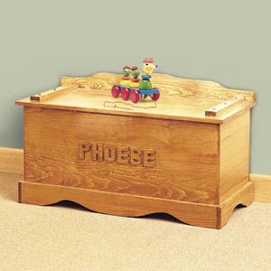 personalized toy chest plans woodworking projects plans. Black Bedroom Furniture Sets. Home Design Ideas
