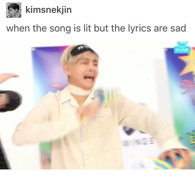 With vocaloids we have: when the song is lit but the lyrics are very very disturbing