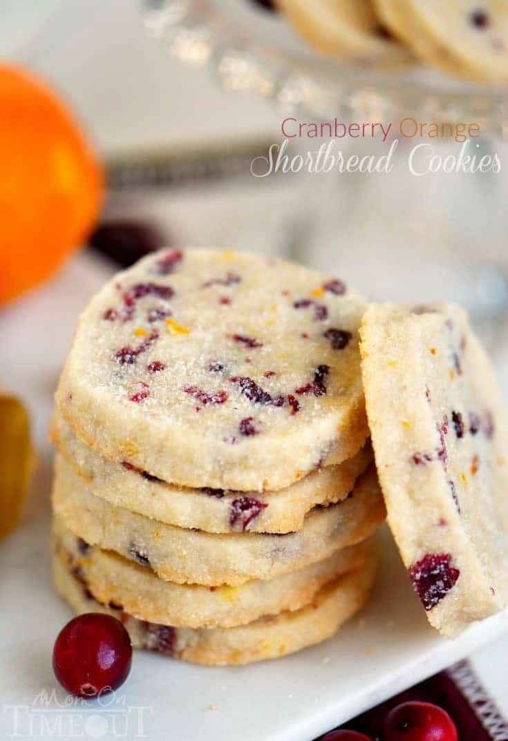 Add these easy Cranberry Orange Shortbread Cookies to your holiday baking list this season! Plus, three secrets to irresistible shortbread cookies!