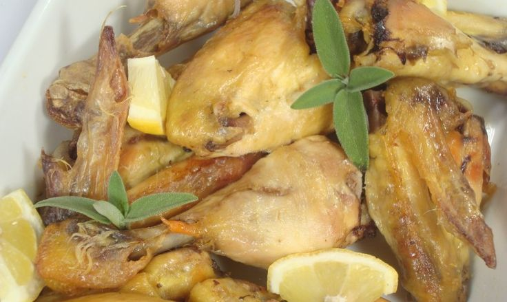 Pollo al forno al limone e salvia | The Spicy Note