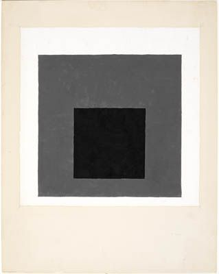 Study for a Homage to the Square - Josef Albers