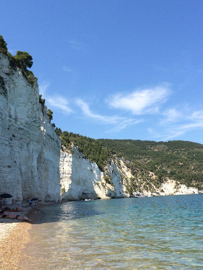 Spiagge del Gargano Vignanotica via @nataxviaggiare  #WeAreinPuglia