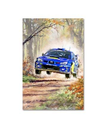 "Die Macneil Studio ""Rally Car"" Leinwand Kunst – 16 ""x 24"" – Multi"