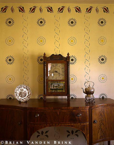 66 Best Colonial Stencils Images On Pinterest Stencil
