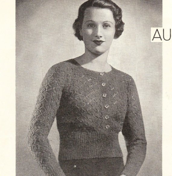 35 Best Vintage Knitting Patterns For Ladies Images On Pinterest