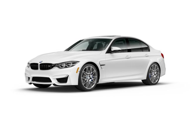 New 2018 BMW M3 Sedan Sedan Alpine White For Sale in Seaside CA | Stock: J5K98320