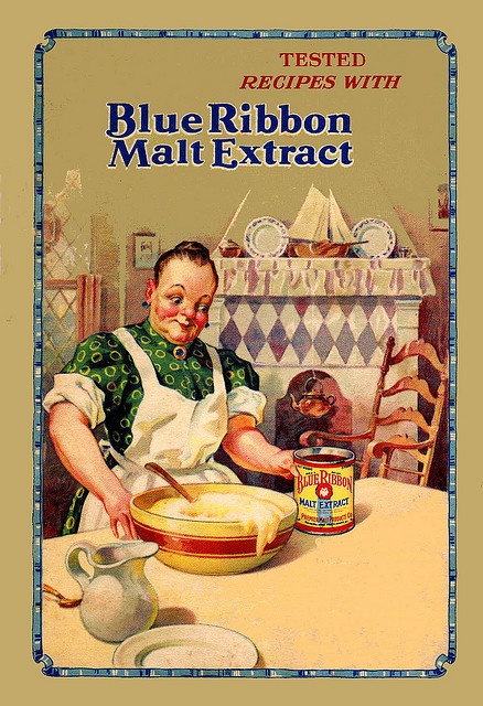 Blue Ribbon Malt - 1928 by Timjammer, via Flickr