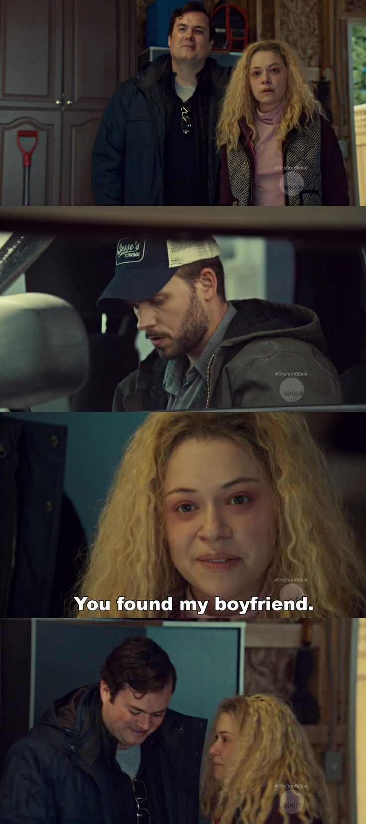 I am dying for this new friendship! They are genuinely the sweetest characters on the show and seeing Helena happy feels just right.