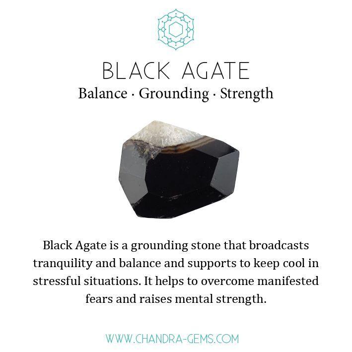 Black Agate Onyx Crystal Healing Properties In 2020 Crystals Healing Properties Crystal Healing Stones Healing Magic