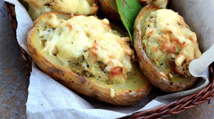Запеченый картофель порецепту Евгения Мещерякова