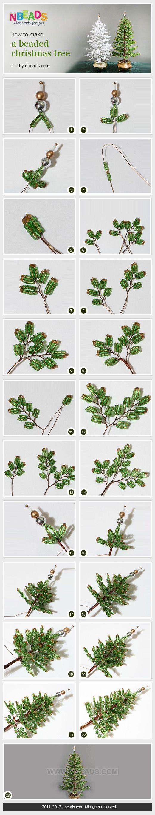Boncuklardan Ağaç Nasıl Yapılır? 7 - Mimuu.com