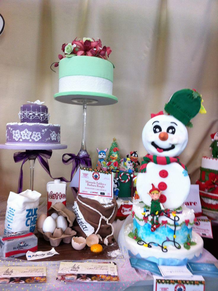 Cake Design Fiera dell'Artigiano dicembre 2012
