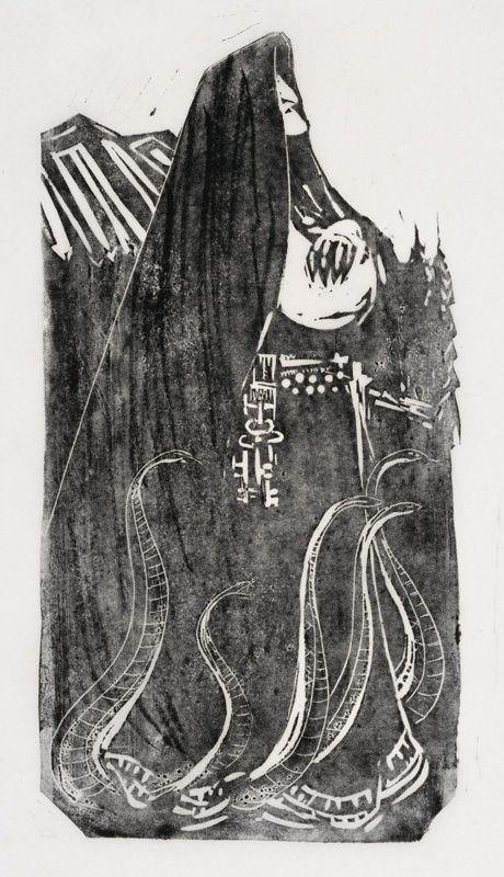 Runot 5-7 Louhi, Pohjan akka kalevala kuvataide pohjolan neito - Google-haku