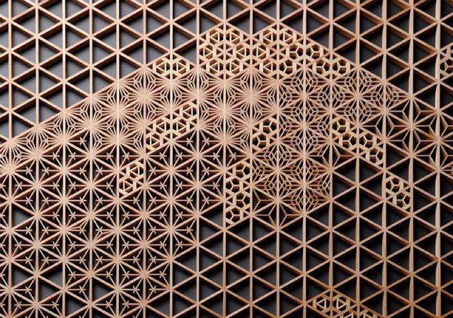 Sashikan Tategu Kogei (japanese Kumiko woodwork)