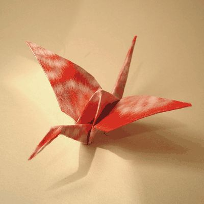 Red cranes are a must