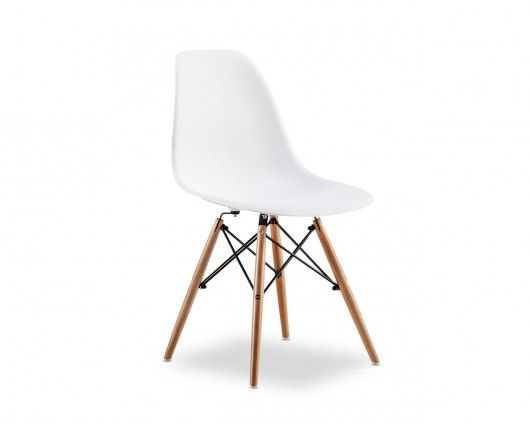 Replica Eames Eiffel Set Of 4 DSW Dining Chair In White