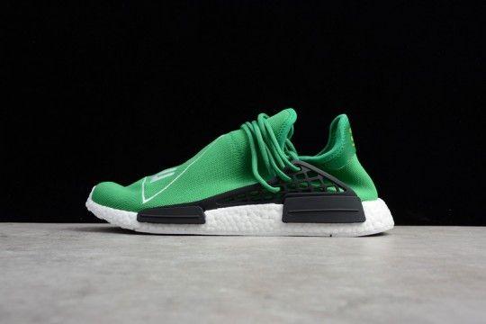 d0d2a228461ee Pharrell X Adidas NMD R1 Hu Green BB0620