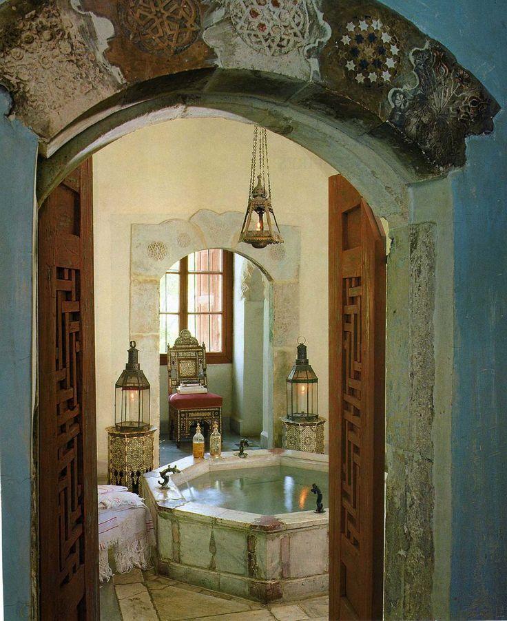 an ottoman tale in lebanon interiors inspiration architectural digest - Bathroom Designs Lebanon