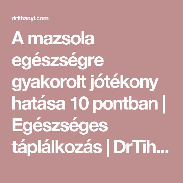 A mazsola egészségre gyakorolt jótékony hatása 10 pontban | Egészséges táplálkozás | DrTihanyi.com