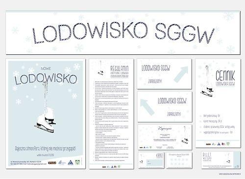 Identyfikacja wizualna dla Lodowiska SGGW