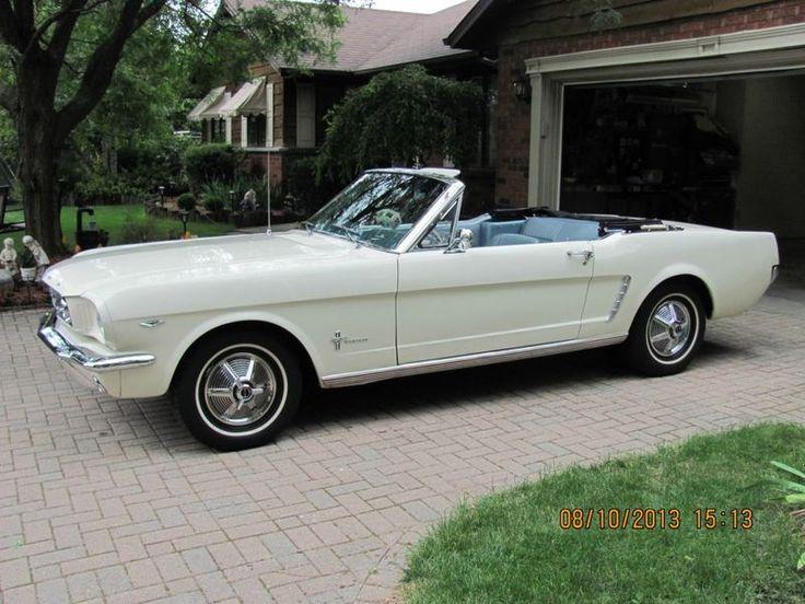 1965 Ford Mustang  Convertible ; so beautiful