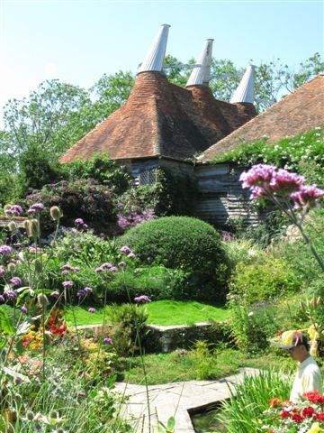81 best hops oast house images on pinterest kent england for Garden trees kent