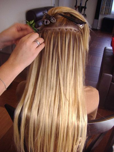 micro bead hair extensions - Lavadene Hair Extensions, Hairdressers, Fairfield, NSW, 2165 - TrueLocal