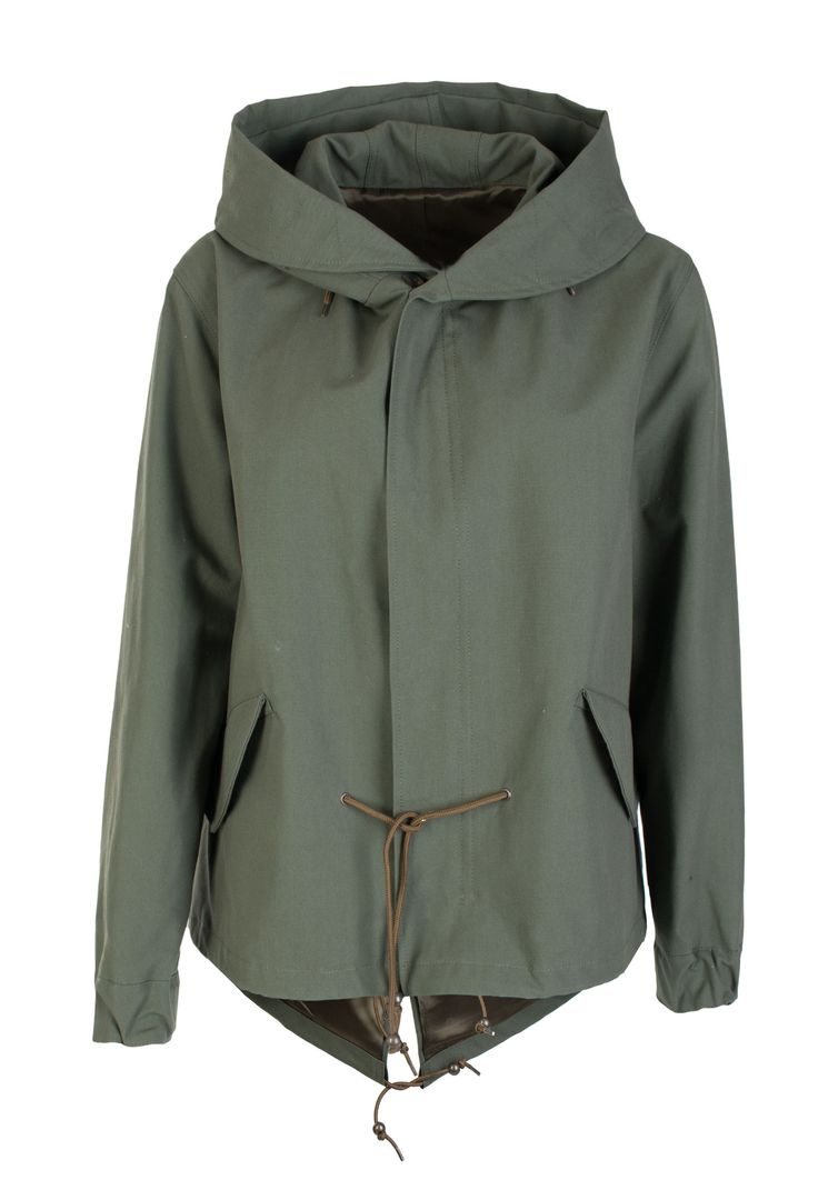 Зеленая Парка Furs 66 - купить по цене 50337 рублей - Elyts.ru