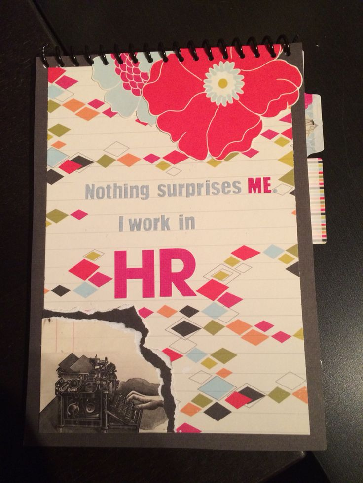 DIY HR notebook