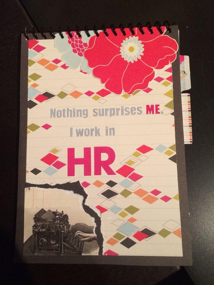 DIY HR notebook