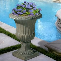@Overstock - With the 26-inch Antique Green Italian Urn Planter you have versatility for indoor or outdoor use while still maintaining the classic style of your urn planter.http://www.overstock.com/Home-Garden/Christopher-Knight-Home-Antique-Green-Italian-26-inch-Urn-Planter/6655689/product.html?CID=214117 $62.09